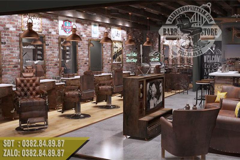 Top 20 mẫu Barbershop đẹp nhất