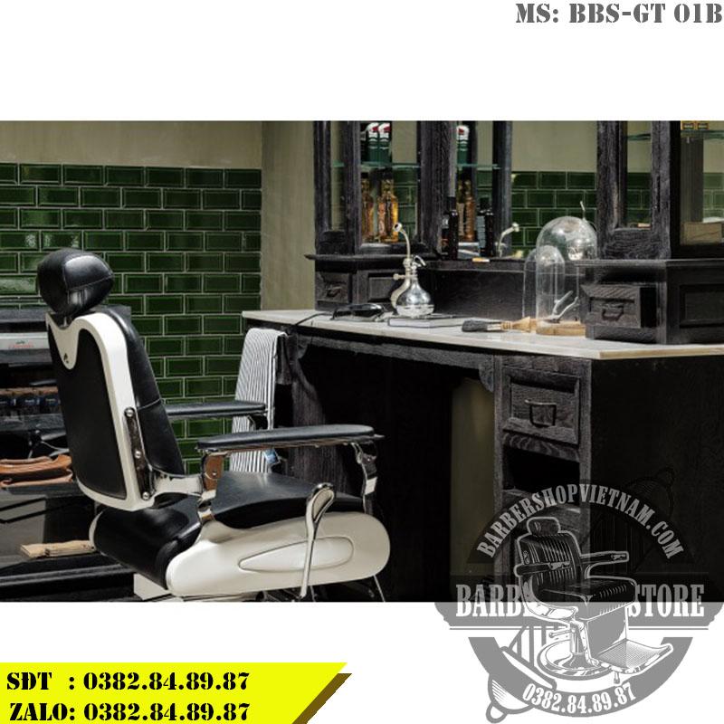 Gương tủ Barber Shop BBS-GT 01B mang phong cách châu Âu