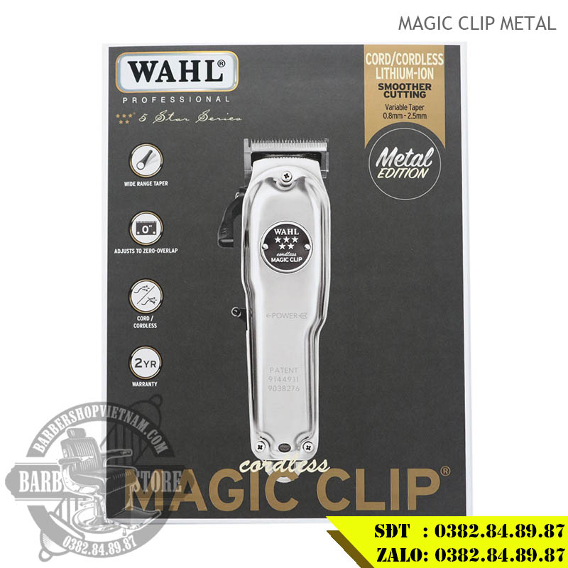 Tông đơ Wahl Cordless Magic Metal