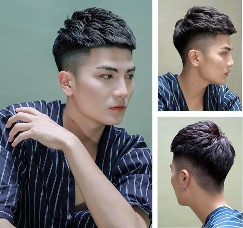 Xu hướng tóc nam Mohican 2021