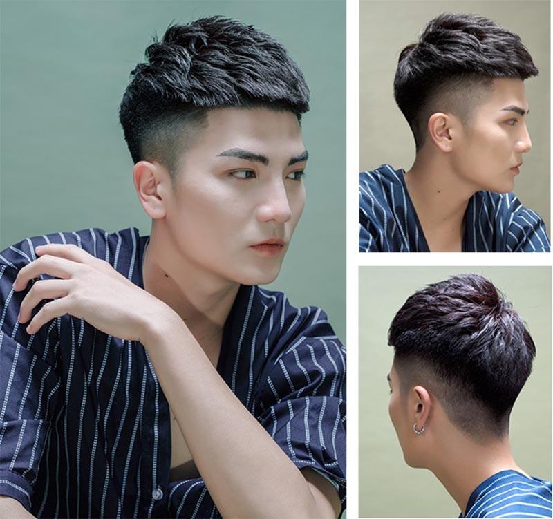 Top kiểu tóc nam đẹp 2021 Hot và được yêu thích nhất hiện nay