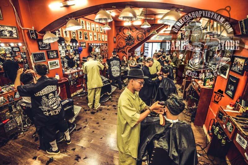 Tiệm cắt tóc nam Liêm Barber